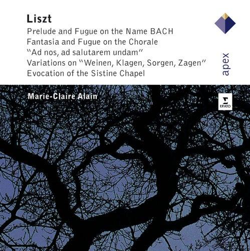 Liszt : The Great Organ Works von Marie-Claire Alain