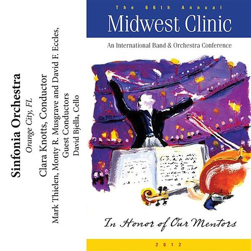 2012 Midwest Clinic: Sinfonia Orchestra von Various Artists