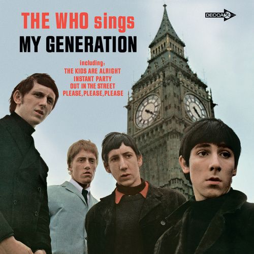 The Who Sings My Generation (U.S. Version) de The Who