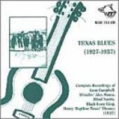 Texas Blues 1927-1937 de Various Artists
