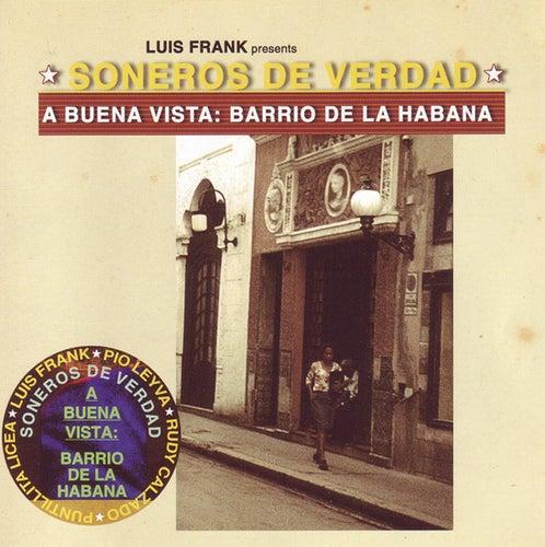 A Buena Vista: Barrio De La Habana (Luis Frank Presents) de Soneros De Verdad