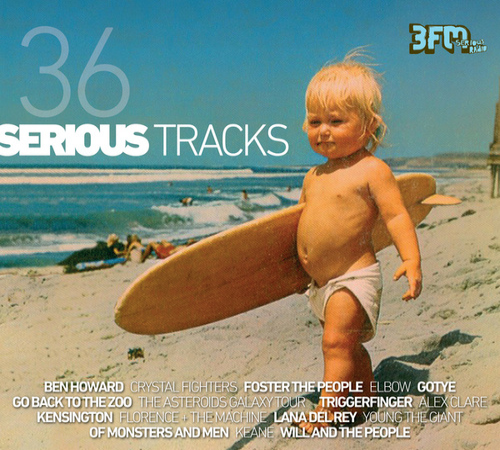 3FM Serious Radio - 36 Serious Tracks van Various Artists
