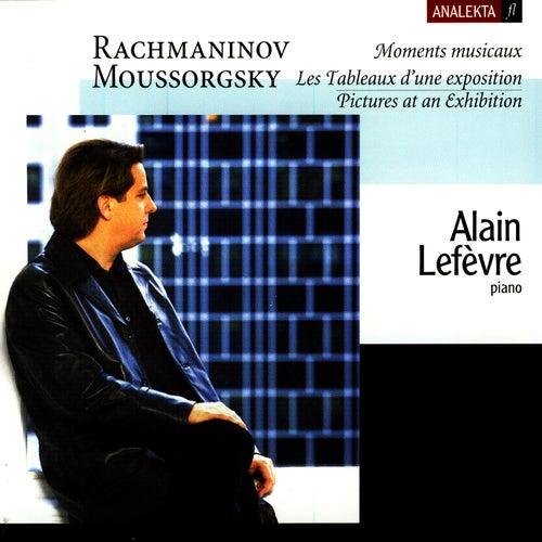 Moments Musicaux/Pictures At An Exhibition (Les Tableaux D'une Exposition) de Alain Lefèvre