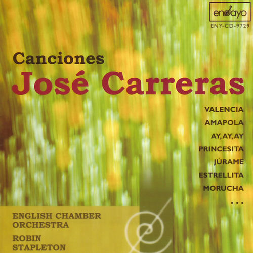 Jose Carreras: Canciones by Jose Carreras