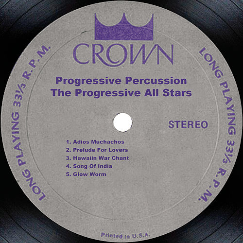 Progressive Percussion de The Progressive All Stars