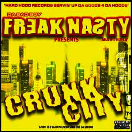 Crunk City VOL 1 de Freak Nasty