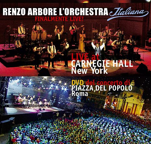 Renzo Arbore l'orchestra Italiana at Carnegie Hall New York di Renzo Arbore