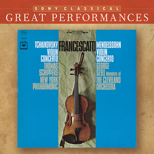Mendelssohn & Tchaikovsky: Violin Concertos [Great Performances] de Zino Francescatti