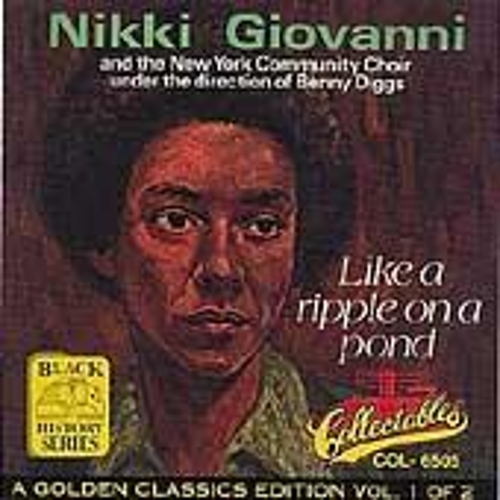 Like A Ripple On A Pond by Nikki Giovanni