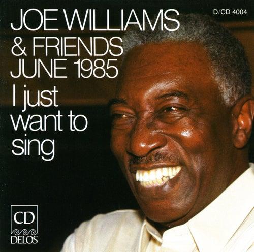 I Just Wanna Sing by Joe Williams