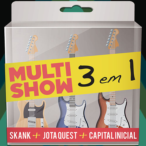Multishow Ao Vivo - 3 em 1 de Various Artists