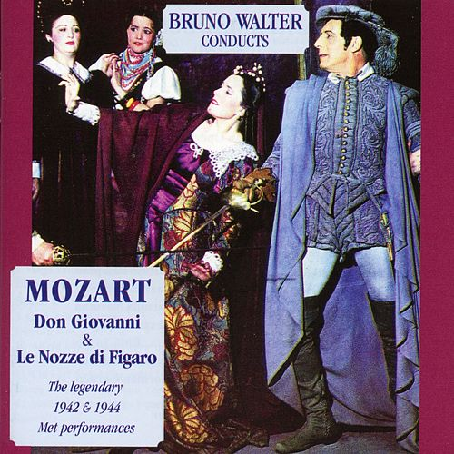Bruno Walter Conducts Wolfgang Amadeus Mozart de Ezio Pinza