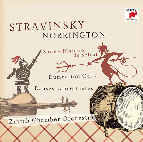 Stravinsky: Works For Chamber Orchestra by Roger Norrington