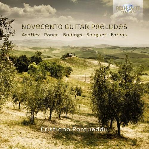 Novecento Guitar Preludes by Cristiano Porqueddu