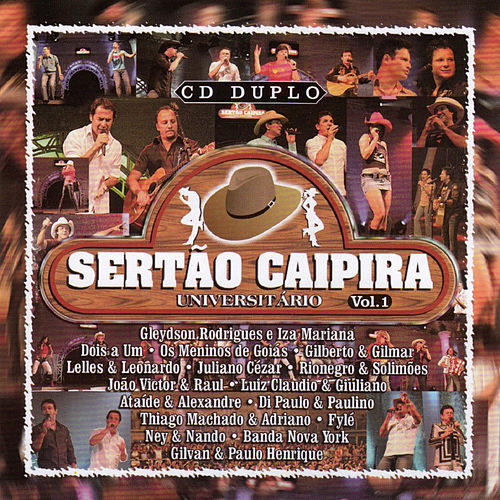 Sertão Caipira - Universitário - Vol 1 de Various Artists