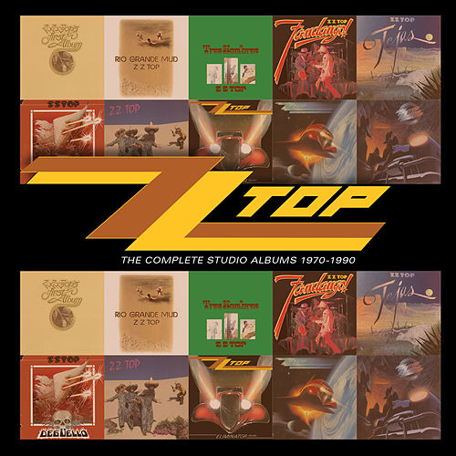 The Complete Studio Albums 1970-1990 de ZZ Top