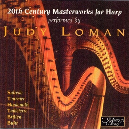 20th Century Masterworks for Harp von Judy Loman