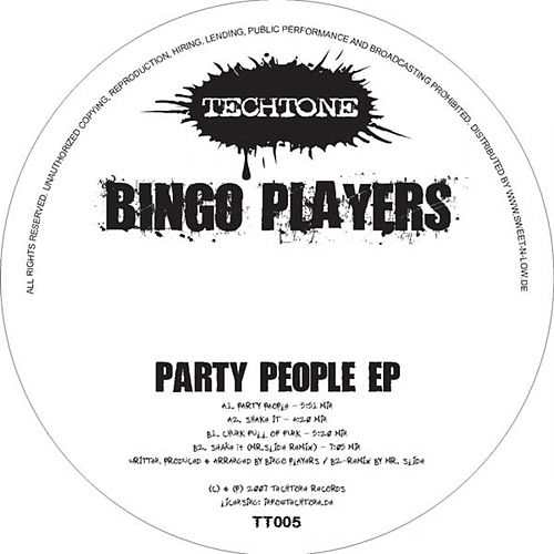 Party People von Bingo Players