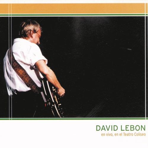 David Lebón - En Vivo en el Teatro Coliseo de David Lebón