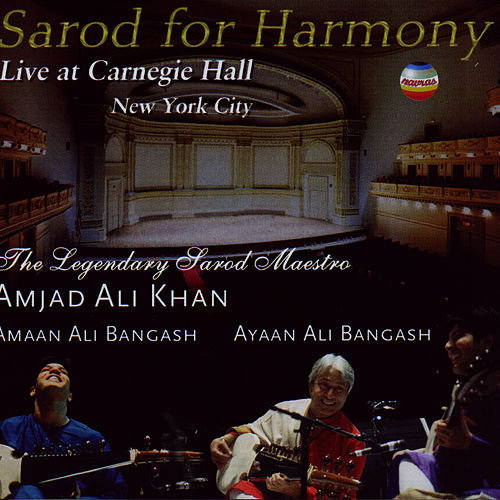 Sarod For Harmony de Amjad Ali Khan
