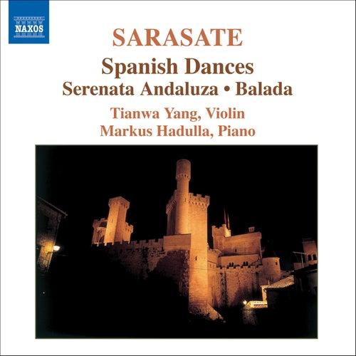 SARASATE: Music for Violin and Piano, Vol. 1 by Tianwa Yang