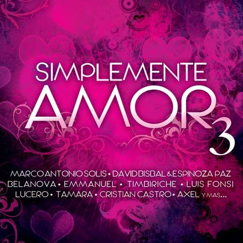 Simplemente Amor 3 de Various Artists