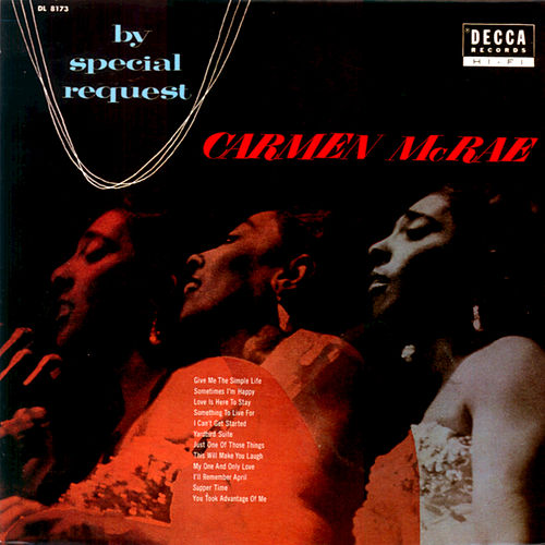 By Special Request by Carmen McRae