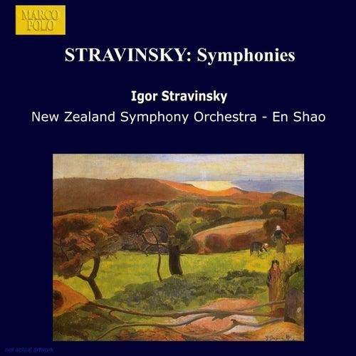 STRAVINSKY: Symphonies von New Zealand Symphony Orchestra