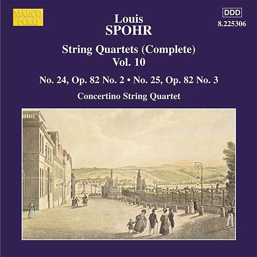 SPOHR: String Quartets Nos. 24 and 25 von Moscow Philharmonic Concertino Quartet
