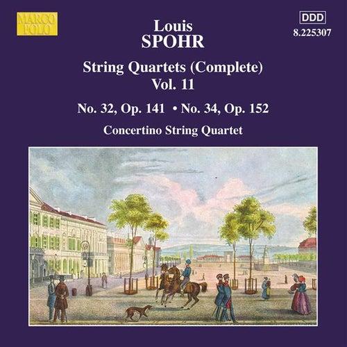 SPOHR: String Quartets Nos. 32 and 34 von Moscow Philharmonic Concertino Quartet