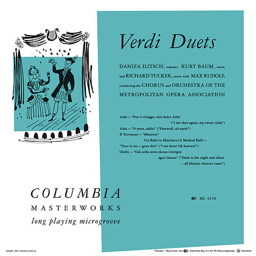 Verdi Duets by Richard Tucker
