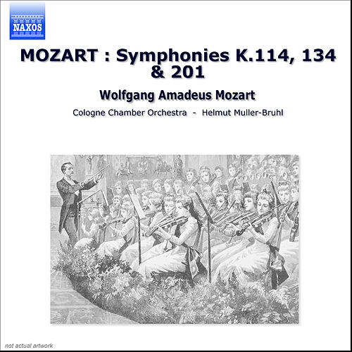 MOZART: Symphonies Nos. 14, 21 and 29 by Cologne Chamber Orchestra