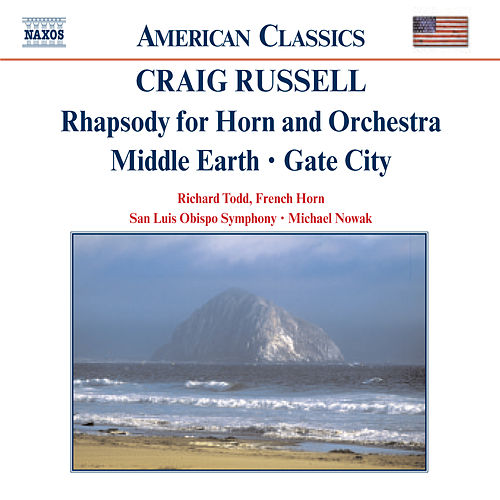RUSSELL: Rhapsody for Horn and Orchestra / Middle Earth von Richard Todd