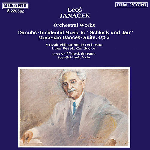 JANACEK: Danube / Moravian Dances / Suite Op. 3 di Jana Valaskova