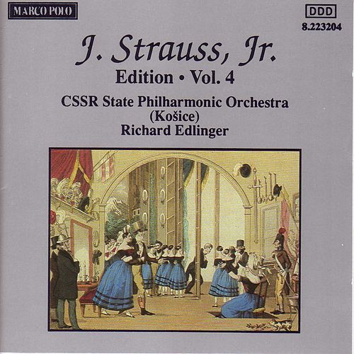 STRAUSS II, J.: Edition - Vol.  4 de Slovak Philharmonic Orchestra