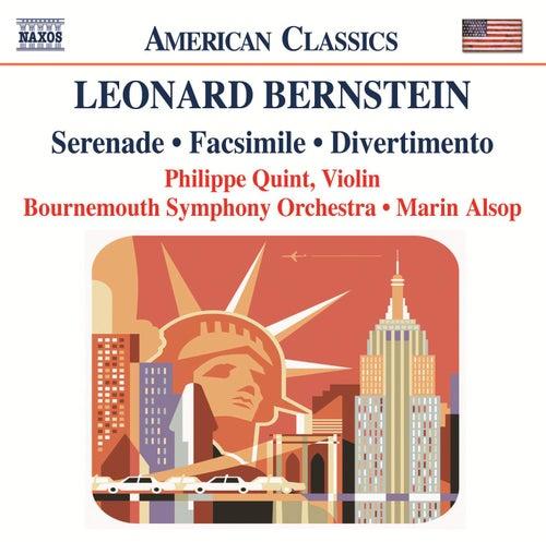 BERNSTEIN: Serenade / Facsimile / Divertimento von Bournemouth Symphony Orchestra
