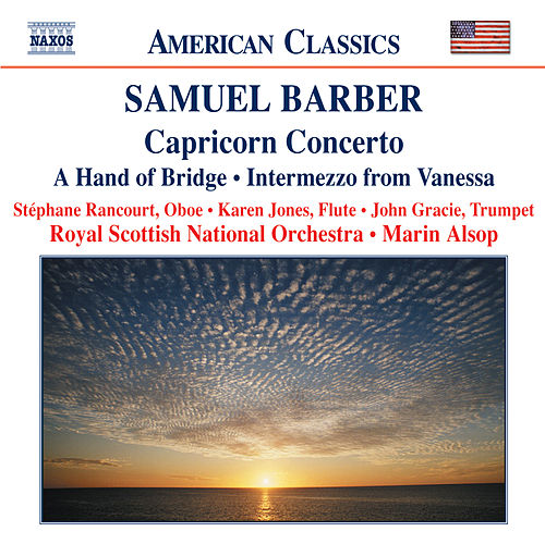 BARBER: Capricorn Concerto / A Hand of Bridge / Canzonetta / Intermezzo von Royal Scottish National Orchestra
