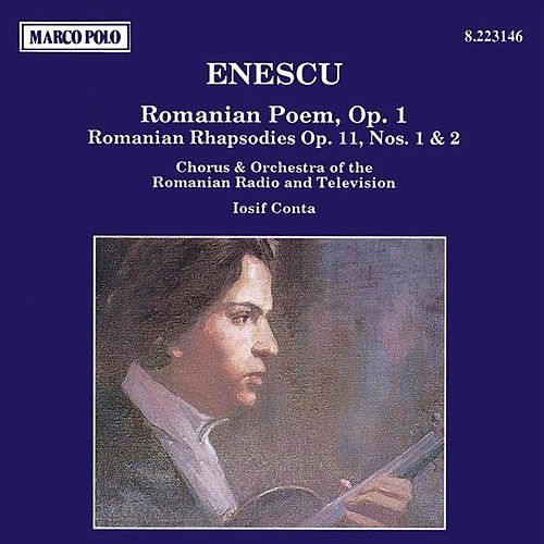 ENESCU: Romanian Poem / Romanian Rhapsodies Nos. 1 and 2 de Romanian Radio and Television Chorus