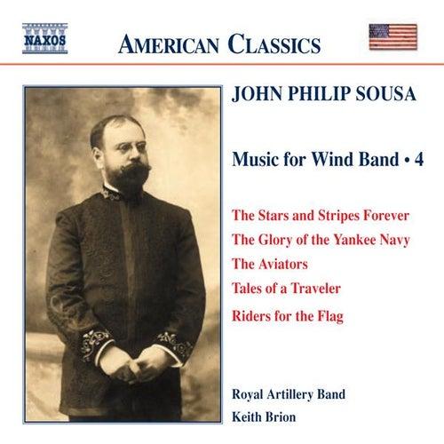 SOUSA: Music for Wind Band, Vol.  4 de Royal Artillery Band