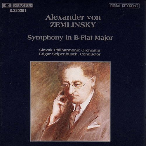 ZEMLINSKY : Symphony in B flat major de Slovak Philharmonic Orchestra