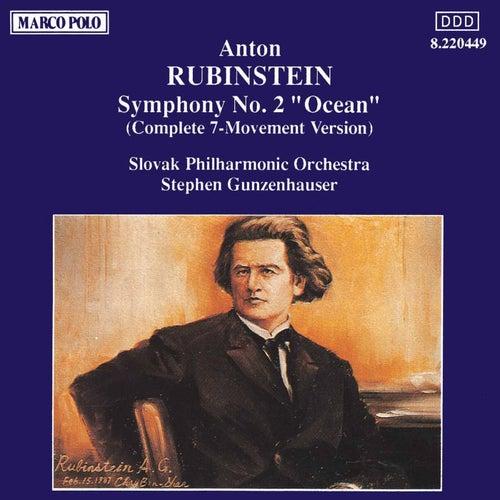 RUBINSTEIN : Symphony No. 2 ' Ocean ' de Slovak Philharmonic Orchestra