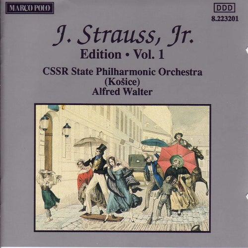 STRAUSS II, J.: Edition - Vol.  1 de Slovak Philharmonic Orchestra
