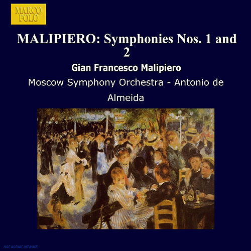 Malipiero: Symphonies Nos. 1 and 2 fra Moscow Symphony Orchestra