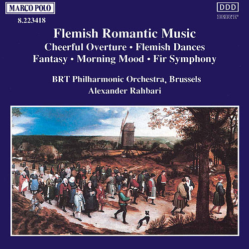 Flemish Romantic Music de Belgian Radio and Television Philharmonic Orchestra