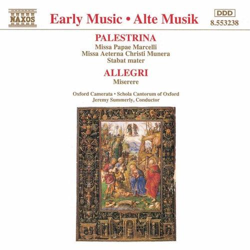 PALESTRINA: Missa Papae Marcelli / ALLEGRI: Miserere von Oxford Camerata