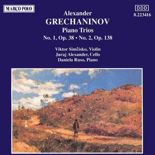 GRECHANINOV: Piano Trios Nos. 1 and 2 by Daniela Ruso