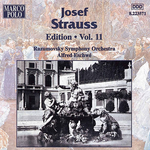 Strauss, Josef: Edition - Vol. 11 de Razumovsky Symphony Orchestra