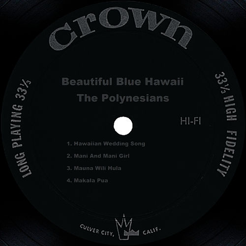 Beautiful Blue Hawaii de The Polynesians