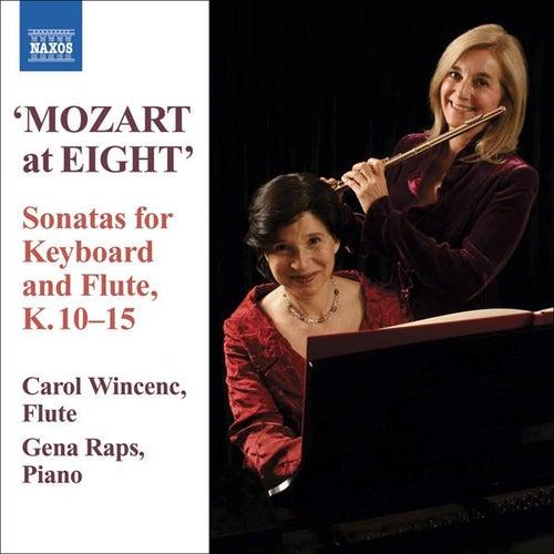 MOZART: 6 Violin Sonatas, K. 10-15 (versions for flute and piano) de Carol Wincenc