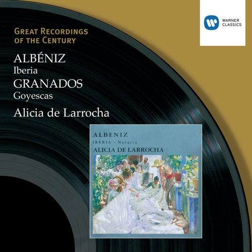 Albéniz: Iberia, Granados, Goyescas by Alicia De Larrocha